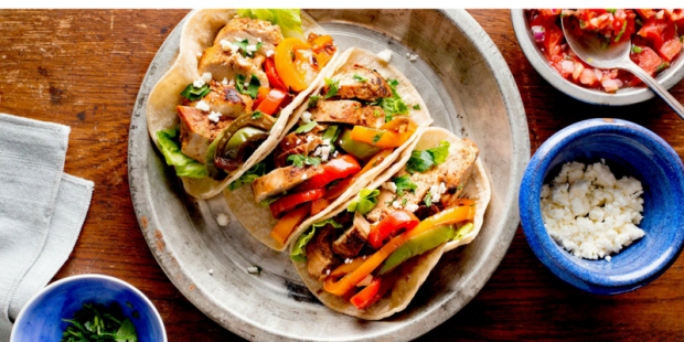 800x400 - chicken fajitas